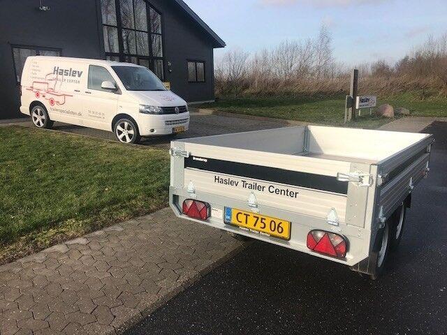 Boogietrailer, Brenderup 4260 ATB Årg. 2018, lastevne