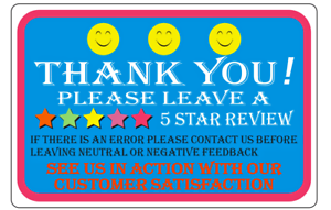Thank You For Your Purchase Labels 1 Roll Of 1000 Thank You Sticker Labels 2 X 3 Ebay