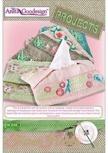 Bedside Holder Anita Goodesign Embroidery Machine Design CD NEW