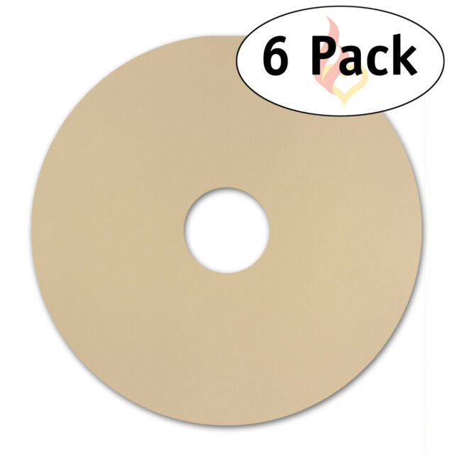6 Round Food Dehydrator Sheets For Nesco Non Stick 12 5 X12
