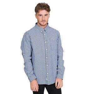 Trespass-Mens-Llng-Sleeve-Check-Shirt-100-Cotton-Spring-Summer-Top-XXS-XXL