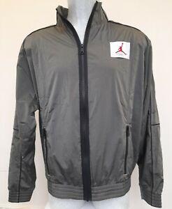 Nike-Jordan-Flight-Men-039-s-Warm-Up-Jacket-CK6652-354-Green-L