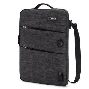 DOMISO-Laptop-sleeve-case-Shoulder-Macbook-Bag-for-10-034-13-034-14-034-15-034-17-034-Notebook