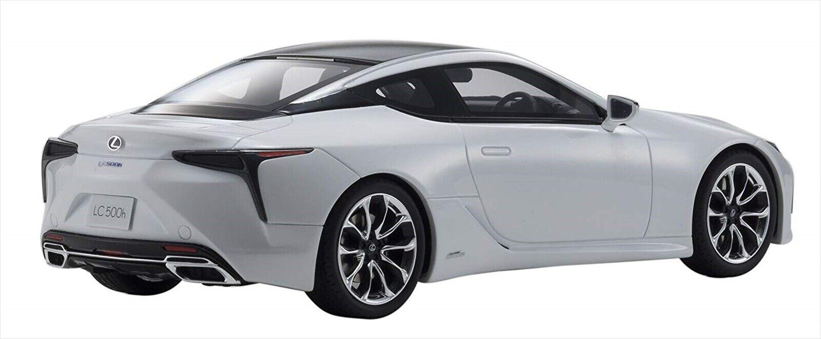 Kyosho samurai 1 18 Lexus LC 500 h h h White Resin Model KSR18024W NEW ef0125