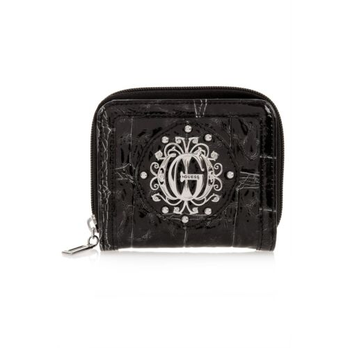 Raten Folklore Bi-Faltbar Münze Purse-Black-Incredibly Süß Ausblasen