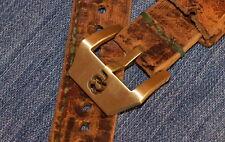26mm Uhren-Schließe Buckle Totenkopf Skull Neu Kuper Legierung f Vintage Straps