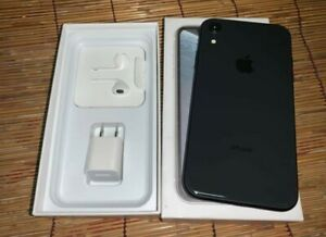 USED Apple iPhone XR 128GB Black - Factory Unlocked, Complete