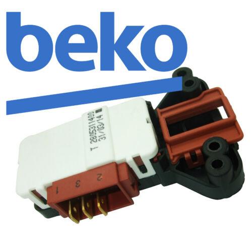 Beko Washing Machine wm5121s wm5121w Verrouillage Door Commutateur Genuine METALFLEX