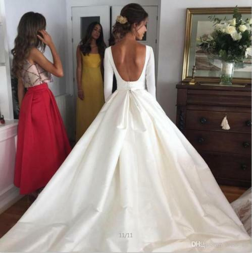 Open Back Wedding Dresses