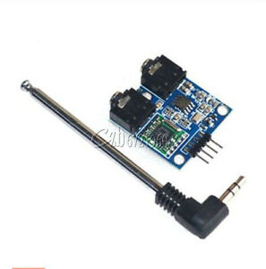 1Set TEA5767 FM Stereo Radio Module for Arduino 76-108MHZ With Cable Antenna/_sg