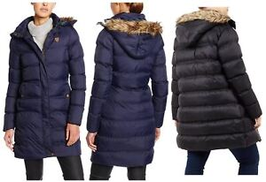 7611e18f95601 Image is loading New-Womens-Plus-Size-Padded-Puffer-Jacket-Hooded-
