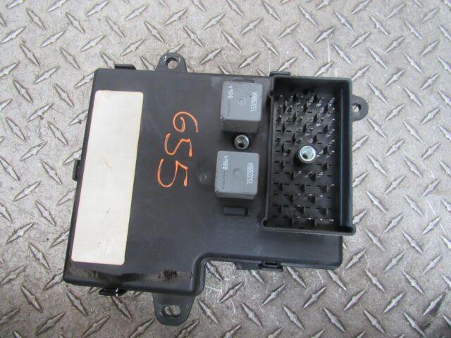 09 Pontiac G6 Fuse Box Interior 3 5l