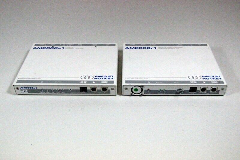 Amulet Hotkey Catx PS2 KVM Extender AM2000r1 AM2000s1