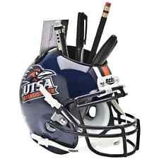 UTSA ROADRUNNERS NCAA Schutt Mini Football Helmet DESK CADDY