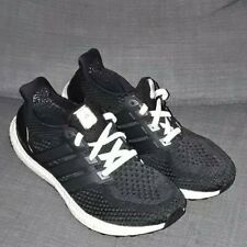 0665040ac72 2016 ADIDAS ULTRA BOOST 2.0 CORE BLACK UK 8 used BB3909 triple clima 3.0