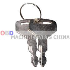 2x Keys For Takeuchi Switch Tl130 Tl150 Tb125 Tb135 Tb145 Tb175 1700100023