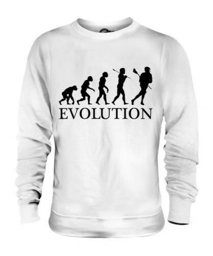 LACROSSE EVOLUTION OF MAN UNISEX SWEATER  Herren Damenschuhe LADIES GIFT CLOTHING
