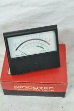 Modutec Analog Panel Meter Volts 0 3 Dbrn Decibel Db Model 407735 Battery Test