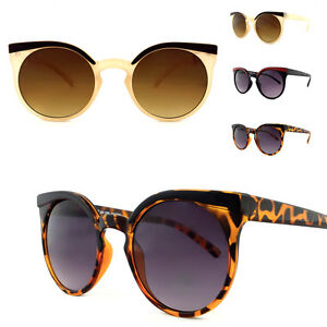 2fd57f918471 Ladies HitchHiker NY Retro Round Lens Cat Eye VTG Rockabilly ...