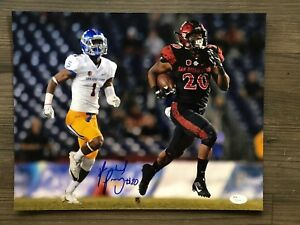 new concept 29be3 8636e Details about RASHAAD PENNY (San Diego State) signed/autographed 11x14  photo ~ ~ JSA/COA