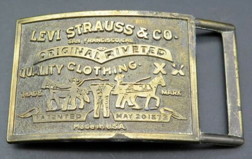 Levi Strauss Company Clothing Vintage Belt Buckle