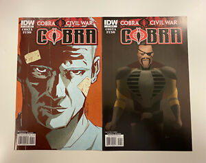 IDW-G-I-JOE-COBRA-CIVIL-WAR-ISSUE-7-NM-CONDITION-B-RI-COVERS