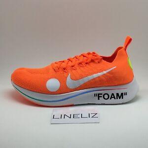 6d5b2aa909f8 Nike x Off-White Zoom Fly Mercurial Orange SIZES UK8.5 AO2115-800