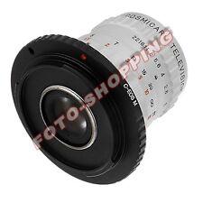 ANELLO ADATTATORE C-MOUNT FOTOCAMERA CANON EOS-M M10 M3 M EOSM PASSO-C RING