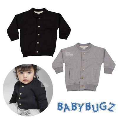 Bellissimo Baby Bomber Morbido Maglione Con Bottoni Maniche Raglan Smart Boy Girl Fashion-mostra Il Titolo Originale