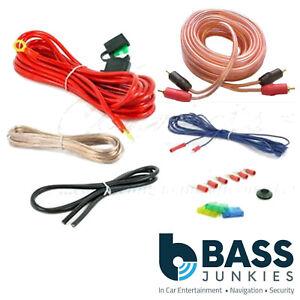 800 watt 10 awg gauge car audio amplifier amp sub speaker wire rh ebay co uk