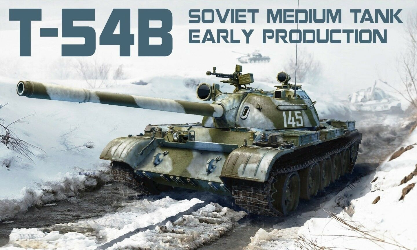 1 35 MINIART Soviet Medium Tank T-54B Early production