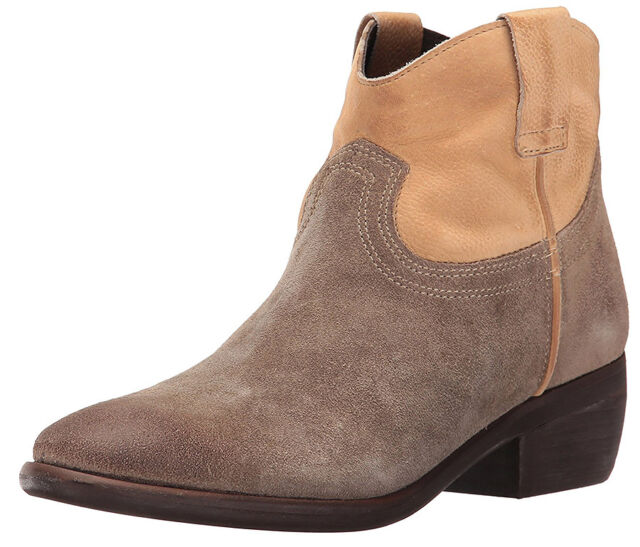 7e73ab7019e New Steve Madden Midnite Cowboy Leather Women Ankle Boots