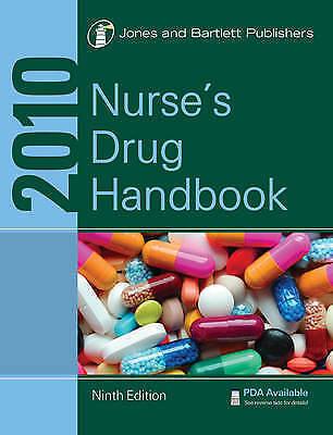 2010 Nurse's Drug Handbook, Jones & Bartlett Learning, New Book
