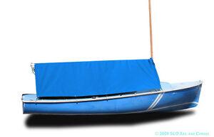Image is loading DaySailer-Sailboat-Boat-Boom-Tent-Blue-Sunbrella  sc 1 st  eBay & DaySailer Sailboat - Boat Boom Tent - Blue Sunbrella | eBay