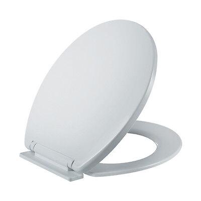 SOFT CLOSE TOILET SEAT WHITE WC TOILET SEATS 5YR GUARANTEE NEW