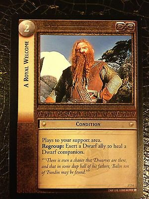 Lord of the Rings CCG Realms Elf-Lords 3U4 A Royal Welcome LOTR TCG