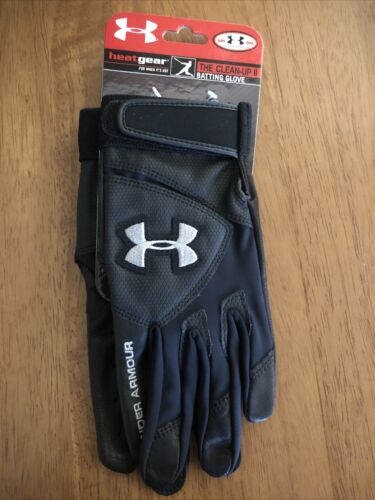 Baseball Batting Gloves Small Black