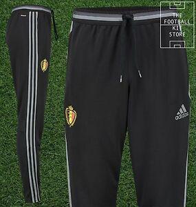 La imagen se está cargando Belgica-Oficial-De-Adidas-Para-Hombre-Pantalones -De- a74a5ed96a3a4