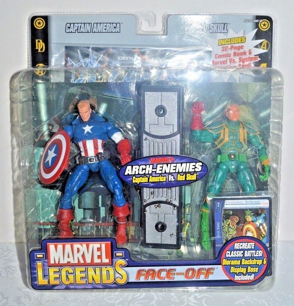 Capitán América & Barón Strucker (6 ) MARVEL leyendas (variante) Figuras de acción