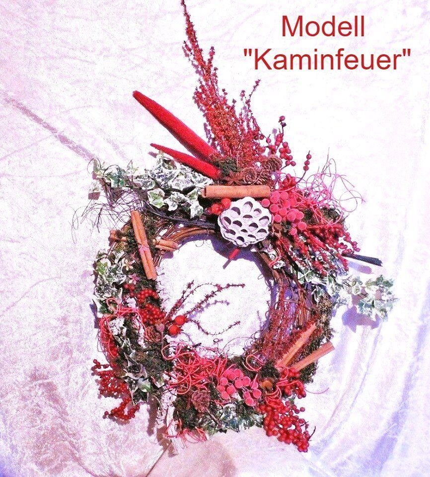 Türkranz Kranz Calla Lotos Baumpilze Floristik    Landhaus Herbst Winter bb7d65