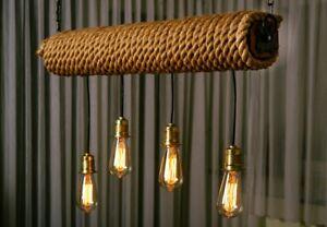 Kronleuchter Klein Vintage ~ Retro vintage kronleuchter deckenlampe hängeleuchte holz