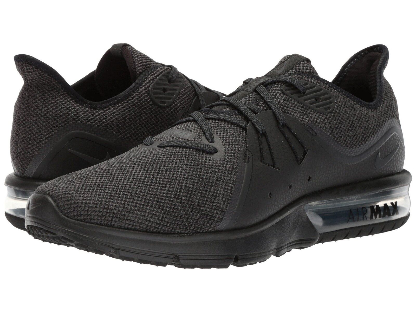 Nike Air Max Sequent 3 Black Anthracite 921694010 Men's Running shoes