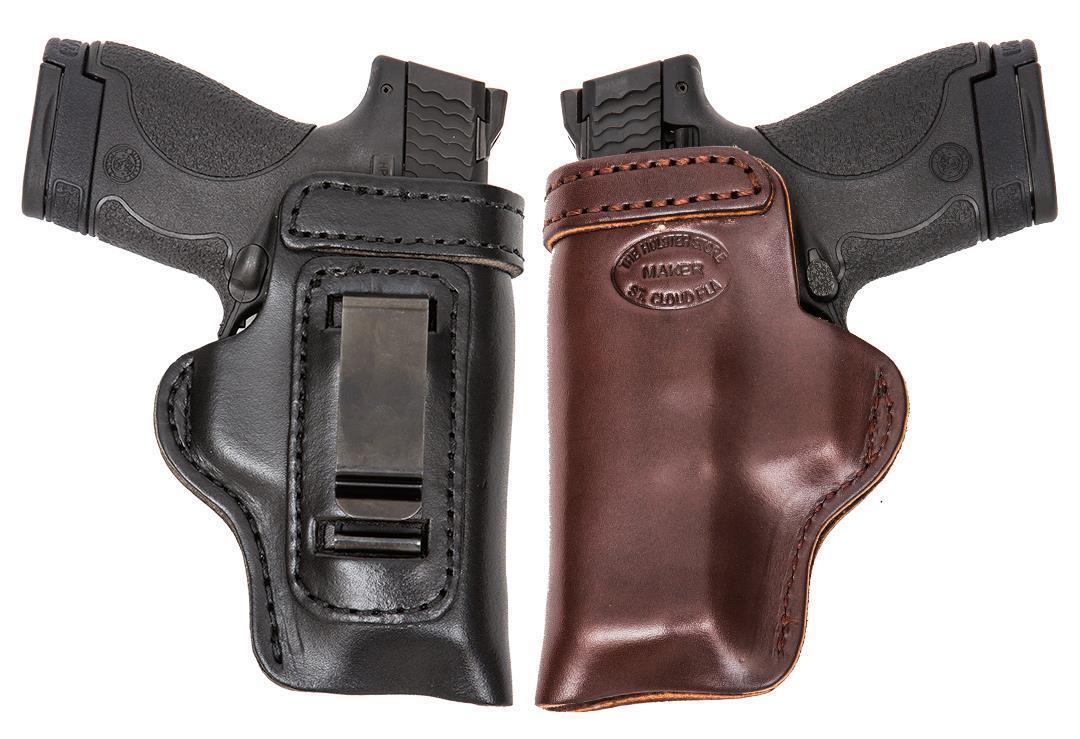 HD Concealed RH LH OWB IWB Leather Gun Holster For Dan Wesson 1911 RZ-10