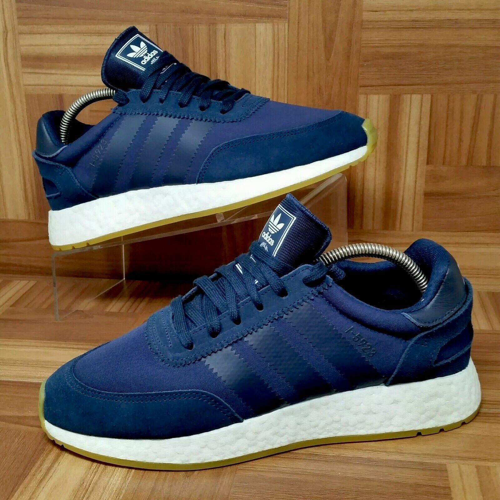 size 40 62e6d 85c60 NEW Adidas Boost (Men s Size 9) Athletic Sneaker Navy bluee NMD shoes Iniki  nfzivl2267-Athletic Shoes
