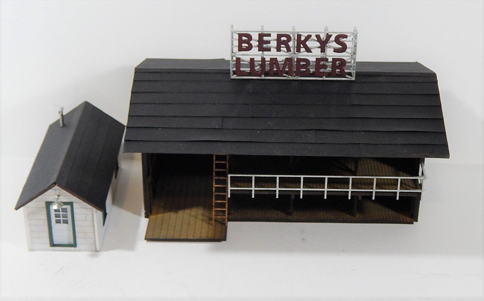 S Scale Craftsman Kit S-04 BERKY'S LUMBER