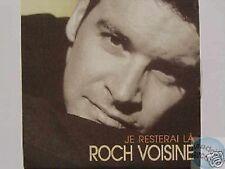 ROCH VOISINE JE RESTERAI LA CD SINGLE