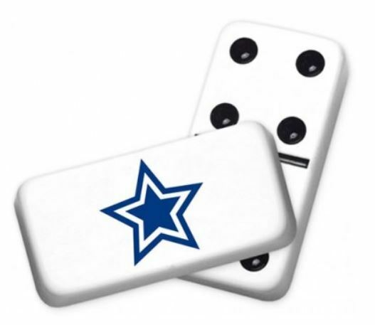 Professional Size Double 6 bluee Star Dominoes