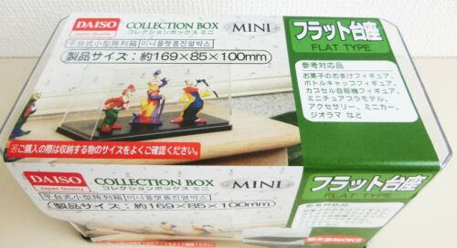 COLLECTION BOX MINI FLAT TYPE  DAISO Figure JAPAN NEW F//S