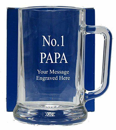 No 1 PAPA GLASS TANKARD GT124