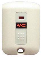 Multi-code 3070 Garage Door Openers Micro-mini Remote Control 300mhz
